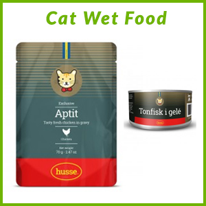 HUSSE WET CAT FOOD