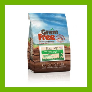 GRAIN FREE LAMB AND SWEET POTATO ADULT DOG FOOD