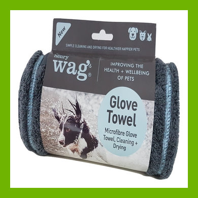 HENRY WAG MICROFIBRE CLEANING GLOVE TOWEL
