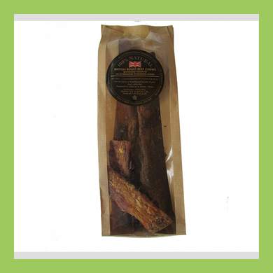 BRITISH NATURAL BEEF CHEW STRIPS