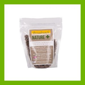 NATURAL TRAINING AND REWARD TREATS - POULTRY AND POTATO 500G
