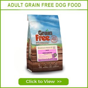 ADULT GRAIN FREE DOG FOOD BY BROADREACH NATURE