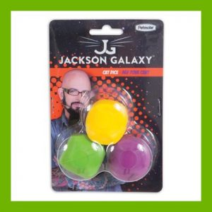 JACKSON GALAXY CAT DICE 3 PACK