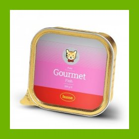 HUSSE GOURMET FISH CAT FOOD