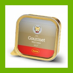 HUSSE GOURMET WILD GAME CAT FOOD