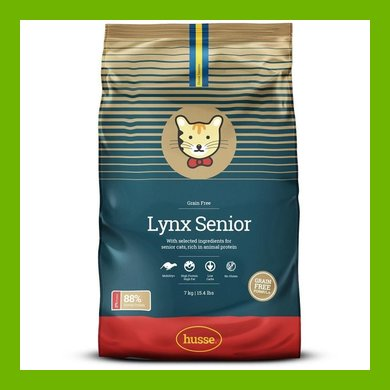 HUSSE LYNX SENIOR CAT DRIED FOOD