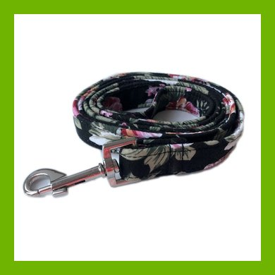 FLORAL BLACK ROSE LEAD