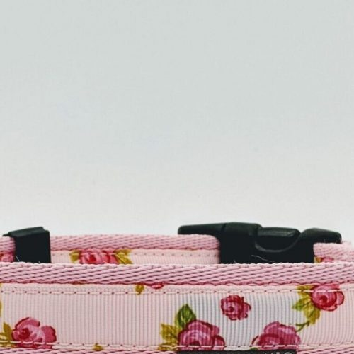 FLORAL VINTAGE DUSTY PINK COLLAR